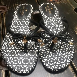 Kate Spade Mistic Bow Flat Thong Sandal